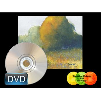Color, Light and Texture in Watercolors. HD Video DVD